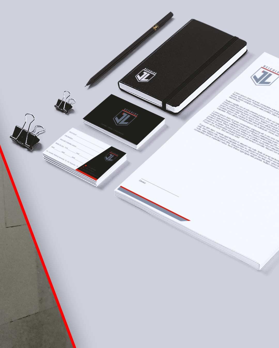 designer de papelaria para empresas